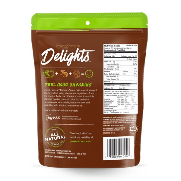 Coconut Delights Bag Back