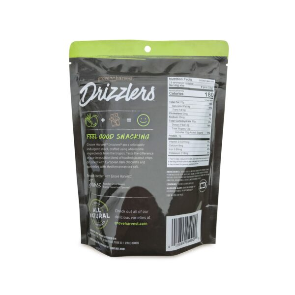 Coconut Drizzlers Bag Back