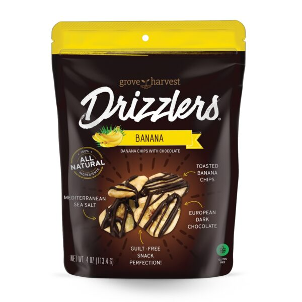 Grove Harvest Banana Drizzlers