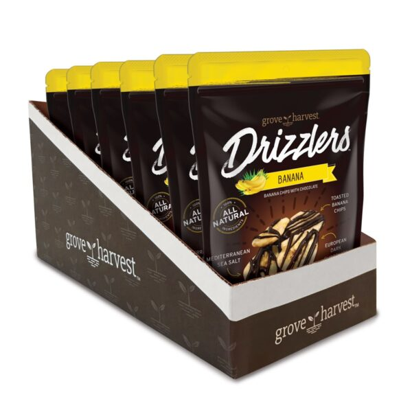 Grove Harves Banana Drizzlers 6 Pack