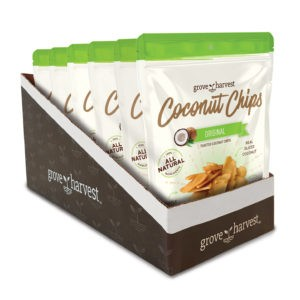 Grove Harvest Coconut Chips 6 Pack