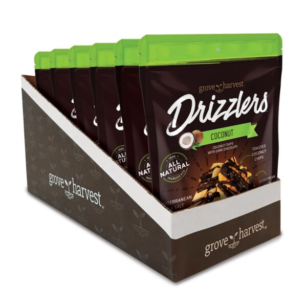 Grove Harvest Coconut Drizzlers 6 Pack